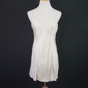Victoria's Secret Ivory Silk Slip